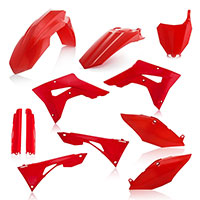 Acerbis Honda Crf 250/450rx Plastics Kit Red