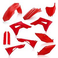 Kit Plasticos Acerbis Honda CRF 250/450RX rojo