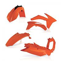 Acerbis Plastics Kit Ktm Excf 2012 Orange