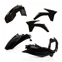 Acerbis Plastics Kit Ktm Excf 2012 Black
