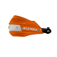 ACERBIS Handguards X-FACTOR orange/white Color