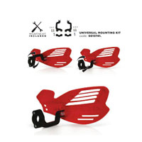 ACERBIS HANDGUARDS X-FORCE WHITE COLOR