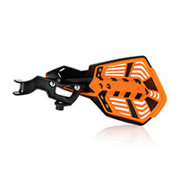 Acerbis K Future Handguards Black Orange