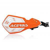 Acerbis K Future Handguards Orange White