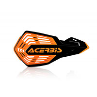 Acerbis X Future Handguards Black Orange