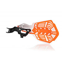 Acerbis K Future Handguards White Orange