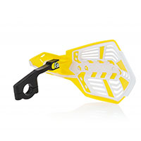 Acerbis X Future Handguards Yellow White