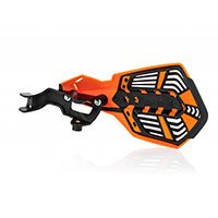 Acerbis K Future Handguards Orange Black