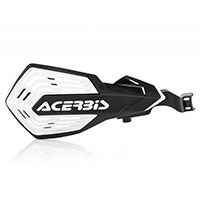 Acerbis K Future Handguards Black White