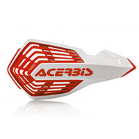Acerbis X Future Handguards White Red