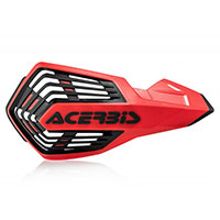 Acerbis X Future Handguards Red Black