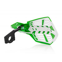 Acerbis X Future Handguards White Green