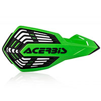 Acerbis X Future Handguards Green Black