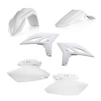 Acerbis Full Plastic White Kit 0013775 For Yamaha Yzf 250 10-13