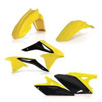 Acerbis Kit Plastiche Giallo Nero 0013776 Per Susuki Rm-z 250 2010-2017