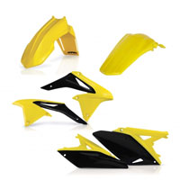 Acerbis Full Plastic Original Kit 0013776 For Susuki Rm-z 250 2010-2017