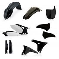 Acerbis Full Plastic Black Kit 0013980 For Yamaha Yz-f 450 10-13