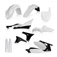 Acerbis Full Plastic Black Kit 0013980 For Yamaha Yz-f 450 10-13