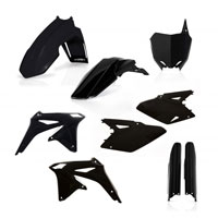 Acerbis Full Plastic Black Kit 0013982 For Susuki Rm-z 450 2008-2017
