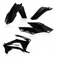 Acerbis Full Plastic Black Kit 0016899 For Honda Crf250r 14-17 And Crf450r 13-16