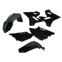 Acerbis Full Plastic Black Kit 0017874 For Yamaha Yz 125/250 15-17 And Wr 125/250 15-17
