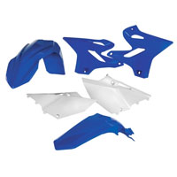 Acerbis Full Plastic Original Kit 0017874 For Yamaha Yz 125/250 15-17 And Wr 125/250 15-17