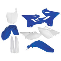 Acerbis White Plastic Kit 0017875 For Yamaha Yz 125/250 15-16