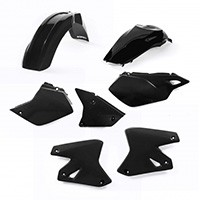 Acerbis Full Kit Plastic Black 0007586 For Kawasaki Klx 400 03/04 And Suzuki Drz 400/400e 00/12