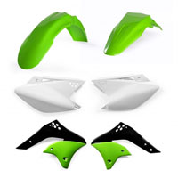 Acerbis Full Plastic Original Kit 0009110 For Kawasaki Kx-f 250 06/08