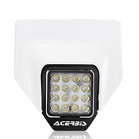 Acerbis Headlight Mask Husqvarna Fe/te 2020 White