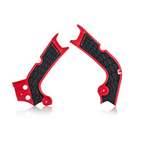 Acerbis X-grip Frame Protectors Red Honda Crf 450r-rx 2017