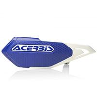 Acerbis X-elite Handguards Blue White