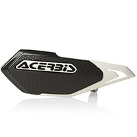 Guardamanos Acerbis X-Elite negro blanco