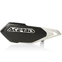 Acerbis X-elite Handguards Black White