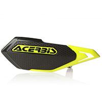 Acerbis X-elite Handguards Black Yellow