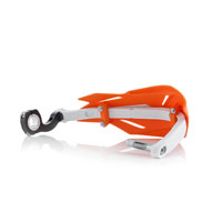 Acerbis X-factory Orange White Handsguards 2018