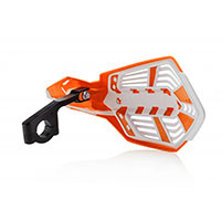 Acerbis X Future Handguards Orange White