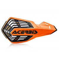 Acerbis X Future Handguards Orange Black
