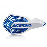 Acerbis X Future Handguards White Blue