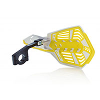Acerbis X Future Handguards White Yellow