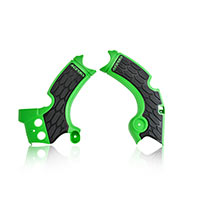 Acerbis X-grip Frame Protectors Green Black Kawasaki Kxf 250 2017