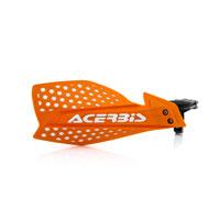 Acerbis X-Ultimate Orangeホワイトハンドガードオレンジ