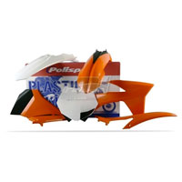 Polisport Kit Plastiche Ktm Sx Sxf 11/12 Oem Colore Replica