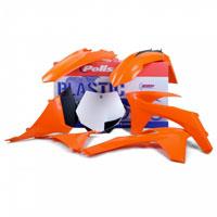 Polisport Kit Plastiche Ktm Exc - Excf 12/13 Oem Colore Replica