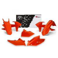 Racetech Kit Plastiche Ktm Replica 2017 Arancio K