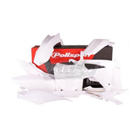 Polisport Plastic Kits Honda Crf 250 - 450 13/16 Colore White