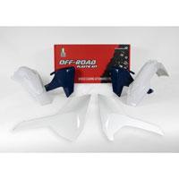 Racetech Plastic Kits Replica Husqvarna 2018 4pcs White Blue