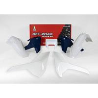 Racetech Kit Plastiche Replica Husqvarna 2018 5pz Bianco Blu
