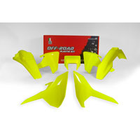 Racetech Plastic Kits Replica Husqvarna 2018 5pcs Fluo Yellow