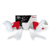 Racetech Plastic Kits Replica Husqvarna 2018 White Red